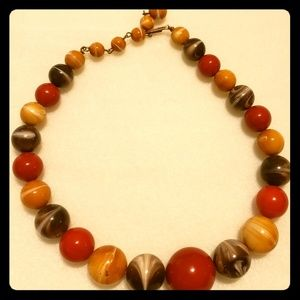 Vintage Bakelite Choker Necklace